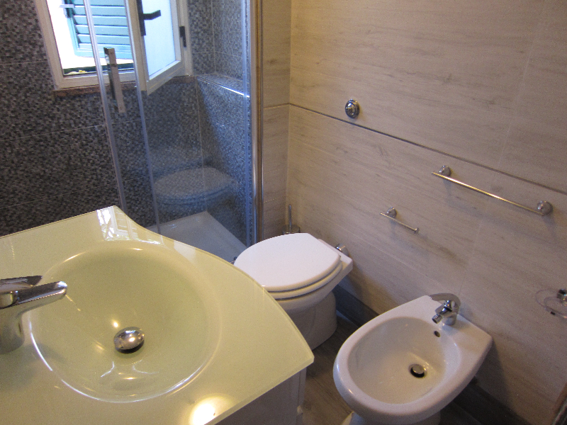 la nuova sala da bagno