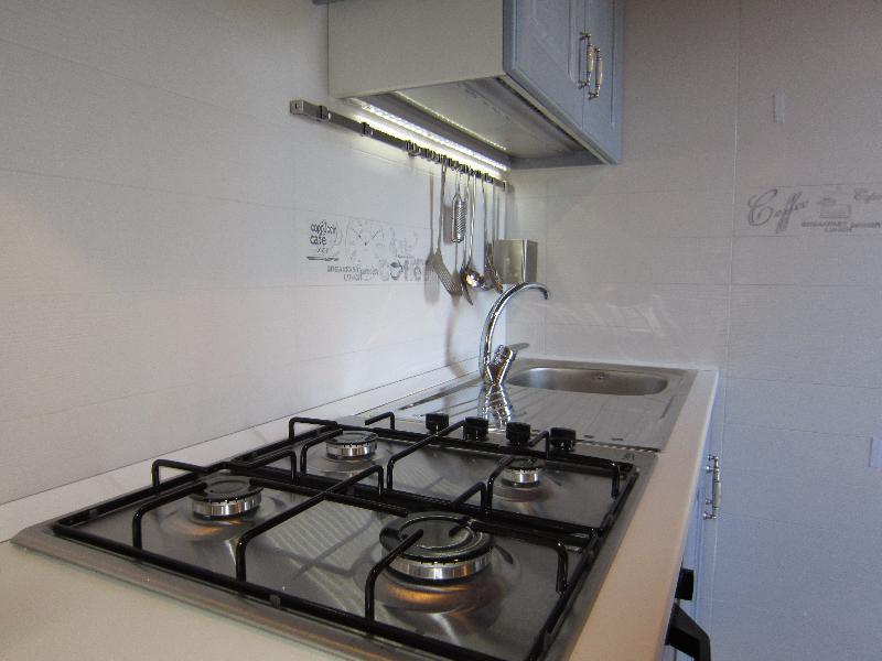 Nuova cucina con led